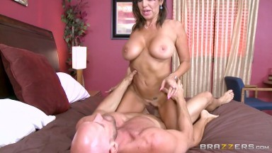 Tara Holiday & Johnny Sins in Overnight With Stepmom: Part Two - Brazzers