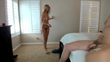 James Gets His Dick Sucked By Milf Camgirl Jess Ryan