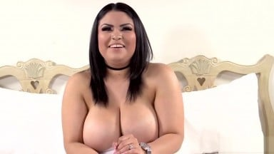 Chubby Latina casting with BBC ( silver wristwatch )