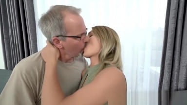 Teenager fucked by gramps