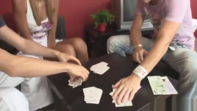Czech blonde gf cheating with his bro