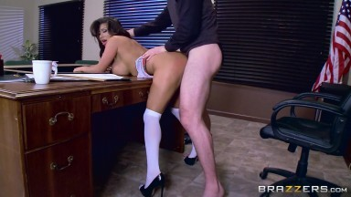 August Taylor & Charles Dera in Whats My Grade Again - Brazzers