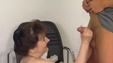 Older women fucks with younger guy