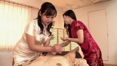 Free porn videos; Hottest Japanese girl in Horny Threesome, CFNM JAV movie
