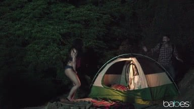 Teen Slut Loves Camping And Outdoor Fucking With Whitney Wright And Charles Dera