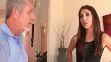Sexy Stepdaughter Aroused By Stepfather - Ariana Grand