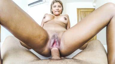 Free porn videos; Brazilian amateur takes a gigantic cock in her asshole